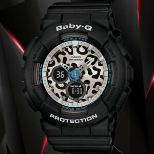 Casio-BABY-G-BA-120LP-1A-Black-Analog-and-Digital-World-Time-Watch-100M-WR