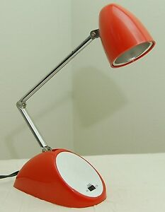 Mid Century Modern Gooseneck Lamp, Vintage MCM Table Lamp ...