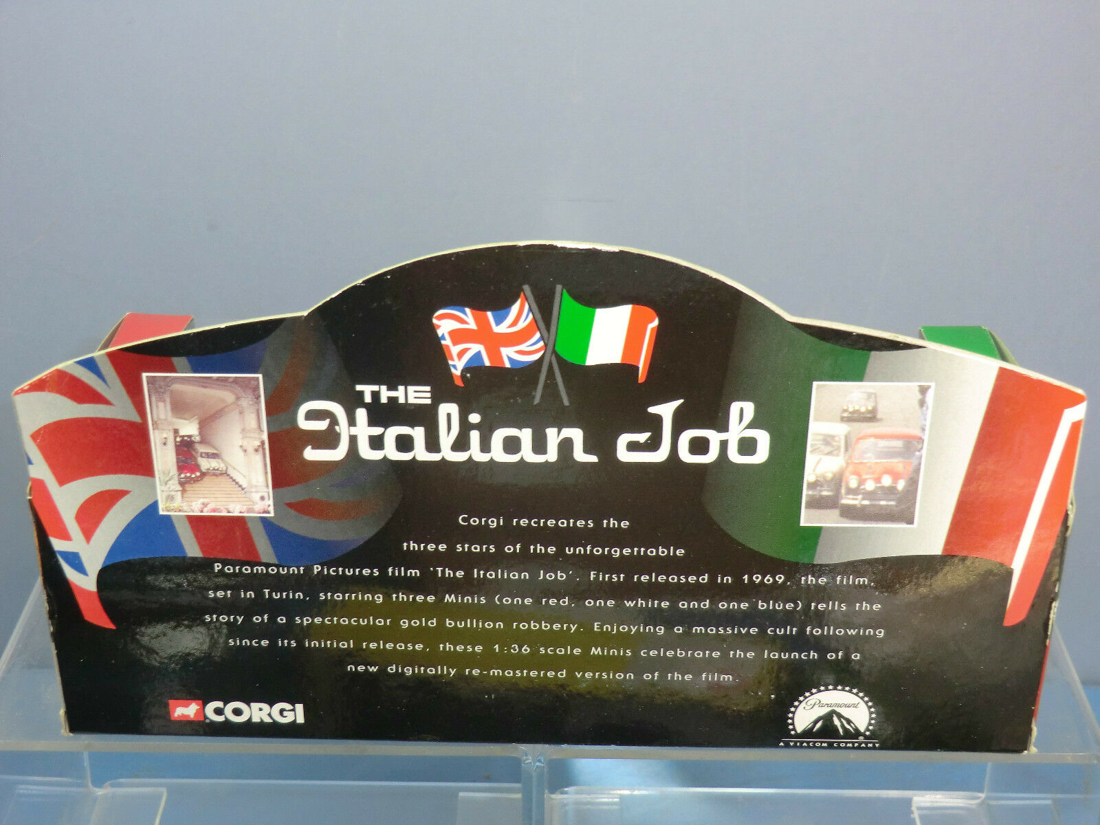 CORGI MODEL No.CC 05506  'THE ITALIAN JOB' JOB' JOB'  3 MINI'S       3rd VERSION       MIB 47b851