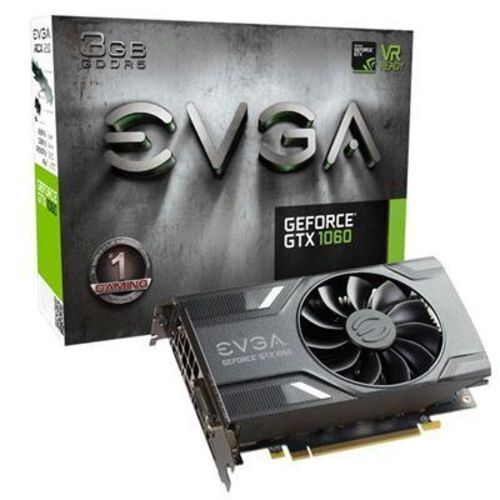 EVGA NVIDIA GeForce GTX 1060 3gb Computer Gaming Graphics Video Card Cards