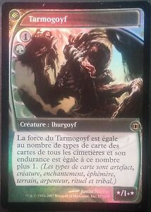 Tarmogoyf-PREMIUM-FOIL-VF-Francais-French-Future-Sight-Magic-Mtg-NM