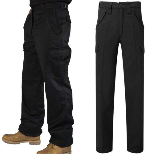Homme Cargo Pantalon Combat Travailleur Wear Super 6 Pocket Builders Heavy Duty Pantalons