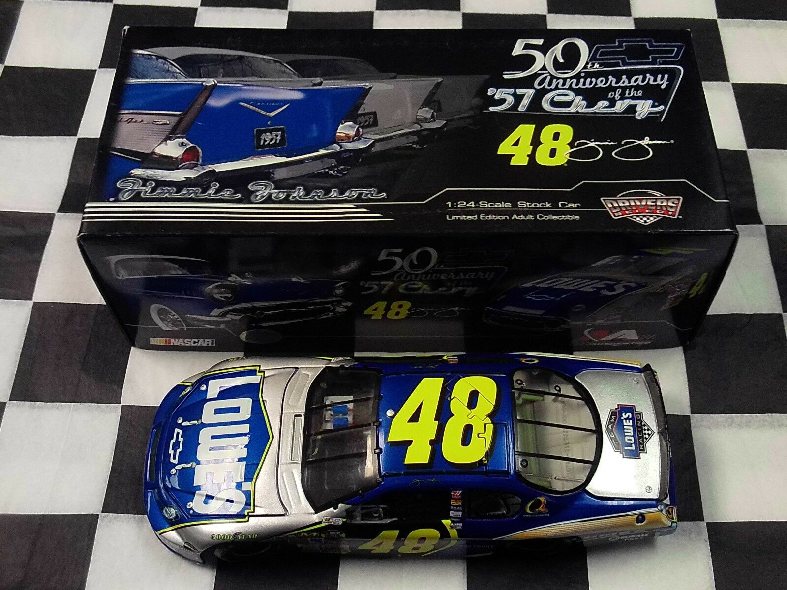 Jimmie Johnson  48 Lowe's Chevrolet 57 2007 MONTE CARLO SS 1 24 Action NEW NASCAR