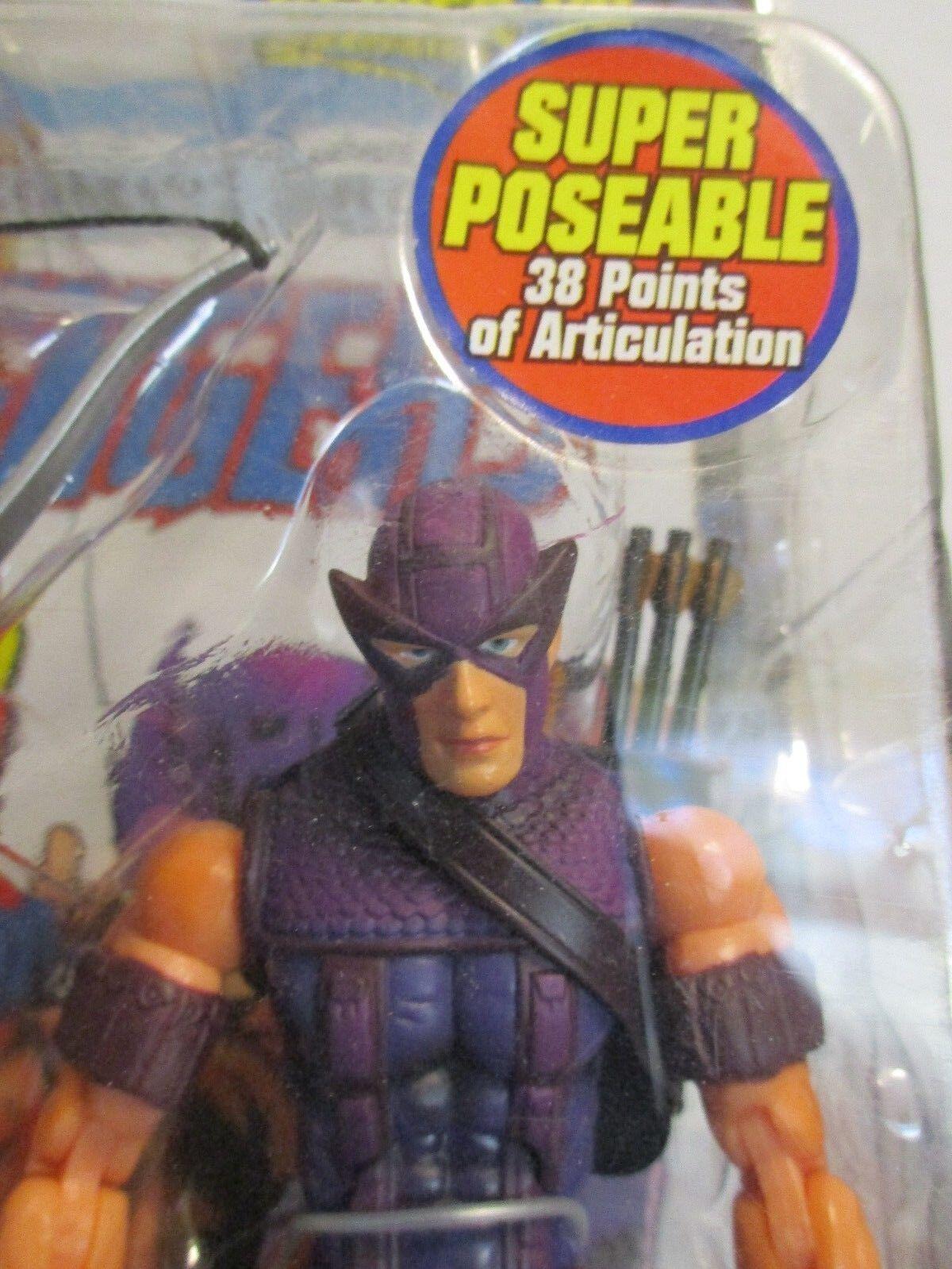 Marvel Legends Classic Hawkeye -- Comme  neuf en paquet    Vague VII Toy Biz  Avengers  différentes tailles