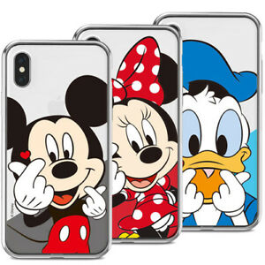 new concept 88c32 aa5ce Details about Genuine Disney Finger Heart Clear Case Galaxy S6 Case Galaxy  S6 Edge Case 8 Type