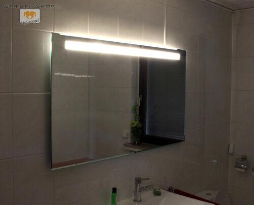 LED BADSPIEGEL IN 100 X 70 CM SPIEGEL MIT BELEUCHTUNG WANDSPIEGEL LICHTSPIEGEL