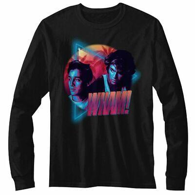 Wham George Michael Miami Vice Mens T Shirt Pop Music Tour Album Merch Black Top