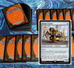 mtg-RED-BLACK-RAKDOS-ROBOTS-DECK-Magic-the-Gathering-rare-60-card-KAL-rares