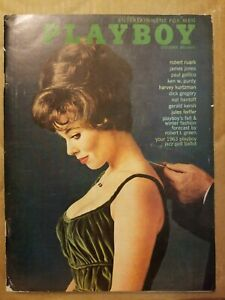 Playboy-October-1962-Very-Good-Free-Shipping-USA