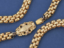 Antike BIEDERMEIER COLLIER KETTE / GOLD 585 / um 1830 / museales Einzelstück