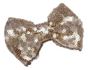 "3 pieces Royal blue 1.4/"" mini sequin bows DIY baby headband supplies"
