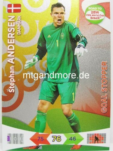 Adrenalyn XL-goal stoppers escoger-Road to 2014 FIFA World Cup Brazil