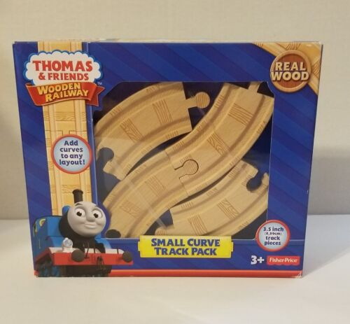 Thomas /& Friends Wooden Railway Small Curve Track Pack NEW