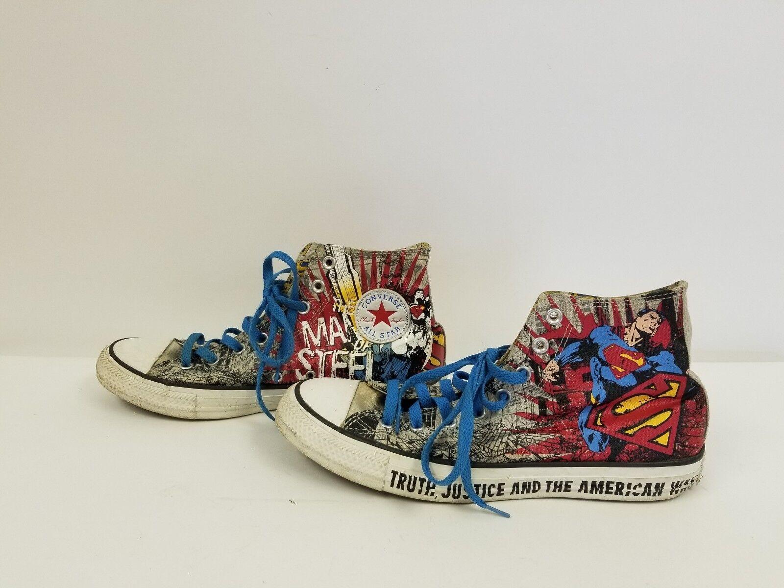 Converse Chuck Taylor All Star Superman DC Comics Man Of Steel Mens Größe 9