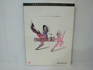 Details About Livre French The Guide Official Complete Game Final Fantasy Xiii 2 Square Enix