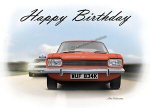 Image Is Loading Ford Capri Mk1 1600GT 3000GT Dad Son Birthday