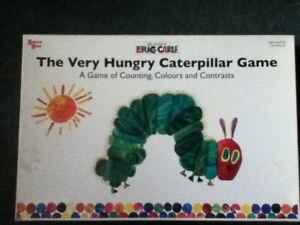 ** The Very Hungry Caterpillar Board Game 3 Ans Et Jusqu'à 2-4 Joueurs **-afficher Le Titre D'origine