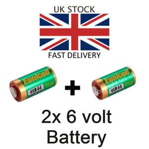 2x-NEU-Akkus-fuer-Pentax-67-Series-SLR-6x7-6v-Alkaline-Batterie-FREIER-POST