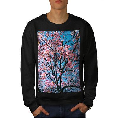 Niedrigerer Preis Mit Wellcoda Tree Blossom Photo Mens Sweatshirt, Pink Casual Pullover Jumper Zu Den Ersten äHnlichen Produkten ZäHlen