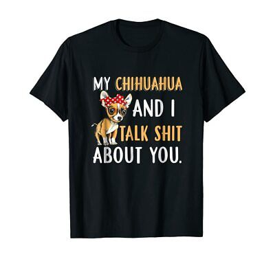 This Guy Loves His Chihuahua Dog Pet Mens Funny Gift T-Shirt Size S-XXL