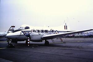 2-249-De-Havilland-Devon-Royal-Air-Force-Kodachrome-SLIDE