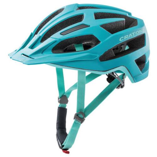 220g Fahrrad Cratoni Fahrradhelm C-Flash MTB S//M 53-56cm türkis blau matt ca