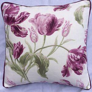 A-16-Inch-Cushion-Cover-In-Laura-Ashley-Gosford-Berry-Fabric