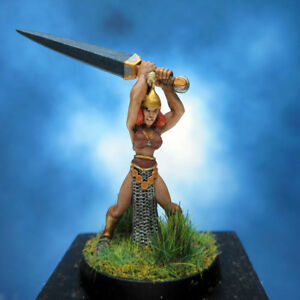 Painted-I-Kore-Celtos-Miniature-Elf-with-Greatsword