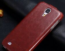 Flip/Folder Leather Case Cover For Samsung Galaxy S4 ,Brown Color, USA SELLER .