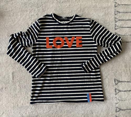 Kule Stripe LOVE Tee Size XS