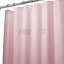CURTAIN LINER SOLID WATER REPELLENT BATHROOM SHOWER MAGNETIZED CLEAR ALL COLORS
