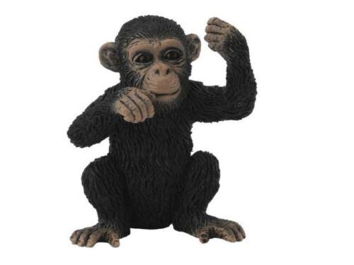 Collecta 88495 scimpanzé giovane ragionando cm 4 animali selvatici