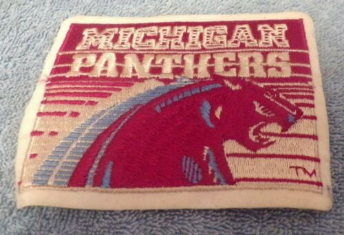 USFL Michigan Panthers Team Patch