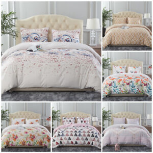 3-Piece-Printed-Duvet-Cover-Comforter-Quilt-Bed-Cover-Bedding-Set-Queen-King