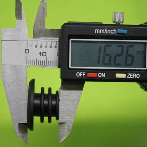 10Pcs Rubber End Caps Plugs Bungs for Handlebar Bar Black BMX MTB Bike 22mm NEW