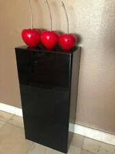 Ds Acrylic Art Sculpture Stand Pedestal Display Black 16w X 9d X 32h