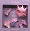 Children/'s hair clip set girls flower bow crown Cloth material headdress DIY