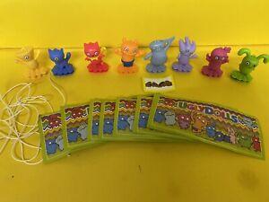 Komplettsatz-Ugly-Dolls-VV284-VV294-mit-allen-BPZ