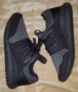 fad004923cd0d6 Adidas Tubular Radial Youth Shoes Size 6.5y or Women s Size 7 Black ...
