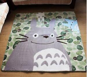 Totoro-Coral-Doormat-Carpet-Blanket-Anti-slip-Anime-Baby-Creep-Rug-185CM-185CM
