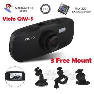 Viofo G1W-S HD 1080P Super Capacitor Novatek96650 IMX323 Car Dash Cam Camera DVR