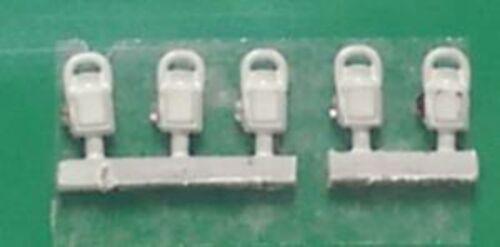 Springside DA4//5 OO Gauge LMS Head /& Tail Lamps White Pk5