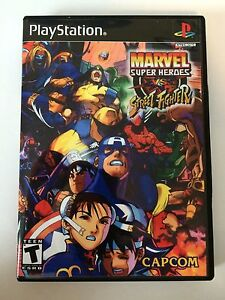 Marvel Super Heroes vs Street Fighter - Playstation ...