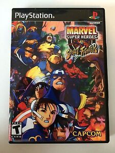 Details about Marvel Super Heroes vs Street Fighter - Playstation -  Replacement Case - No Game