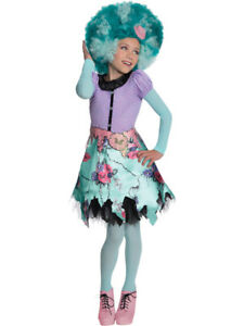 Child Monster High Honey Swamp Outfit Fancy Dress Costume Book Week