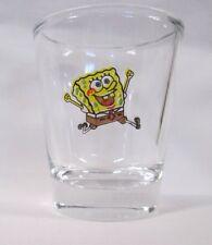 SpongeBob SquarePants Image on Clear Shot Glass