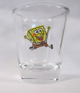 Tinkerbell Image on Clear Shot Glass