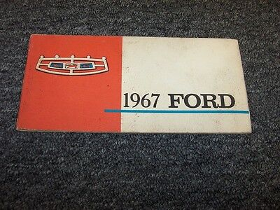 1972 FORD LTD GALAXY 500 COUNTRY SQUIRE OWNERS GUIDE MANUAL ORIGINAL OEM