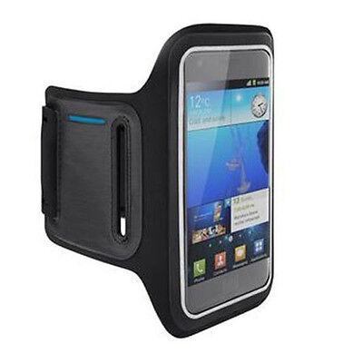 Neopren Sportarmband Armband für Smartphones Schwarz Sport Tasche Joggen Outdoor