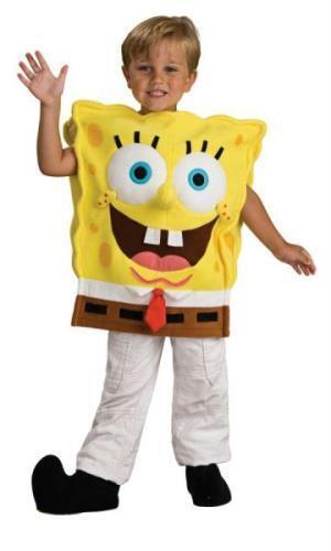 RU883139SM Spongebob Deluxe Child Small For Christmas, Santa & New Year